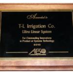 T-L Irrigation Award Winning