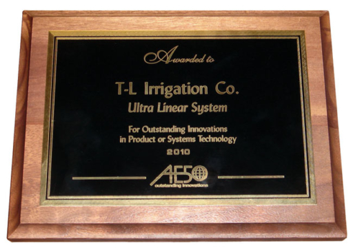 T-L Irrigation Award Winning