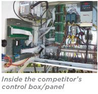 T-L Competitor Control Box Interior